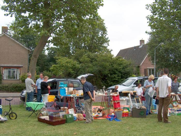 kofferbakmarkt, Middenmeer, Mieke