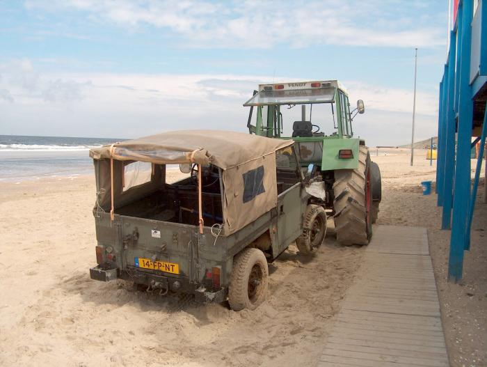 landrover, strand, zand, as, publisher, uitgever